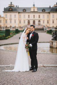 bröllopsfotograf drottningsholm