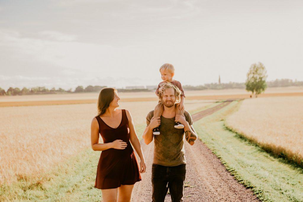 familjefotografering