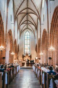 bröllop helga trefaldiga kyrka uppsala