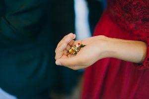 konfetti bröllop