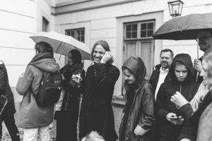 bröllopsgäster drottningholm