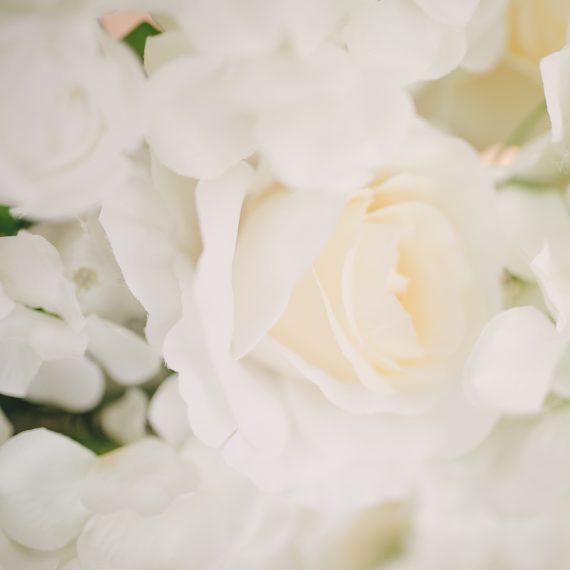 hyr blomstervägg